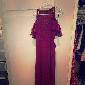 New wrap around dress